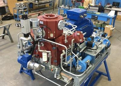 Qaz doldurulması üçün sıxılmış qaz üçün kompressor