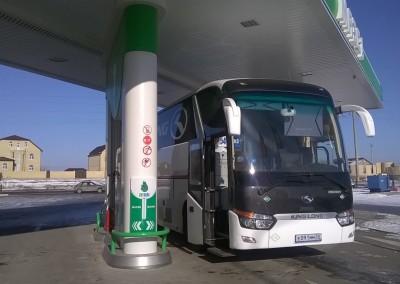 Fornovo qaz metan stansiyalarında Rusiya, Qazaxıstan, Belarusiya